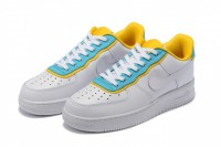 Tênis Nike Air Force 1 07 SE White/Yellow