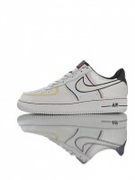 Tênis Nike Air Force 1 07 LV8  Day Of The Dead Black