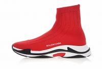 Balenciaga Triple-S knit Red