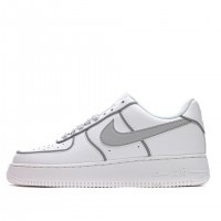 Tênis Nike Air Force 1 '07 Low White/Grey