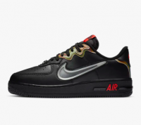 Tênis Nike Air Force 1 React Lv8 Black