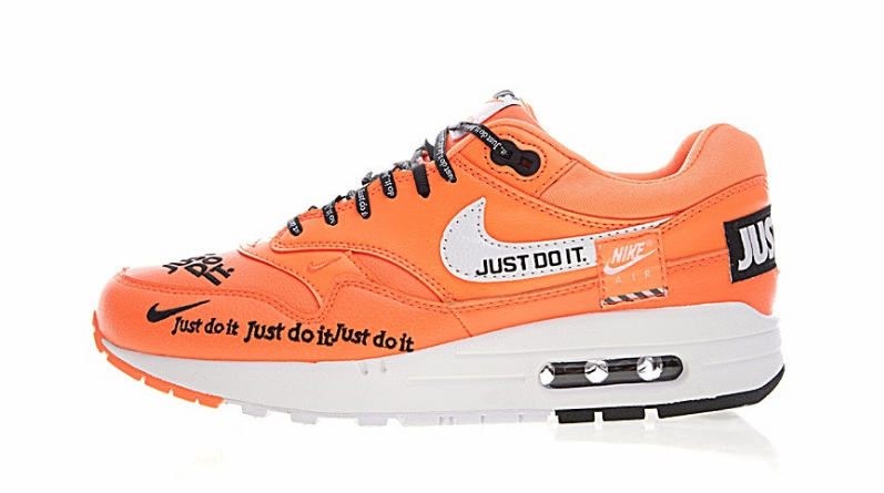 e8a91679c5 Tênis Nike Air Max One Just Do It Laranja - Budy Imports