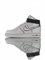 "Tênis Nike Air Force 1 07 High""Day Of The Dead Black"