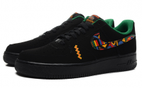 Tênis Nike Air Force 1 Rasta Low