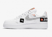 Tênis Nike AF1 Just Do It White Low