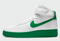 Tênis Nike AF1 High White/Green