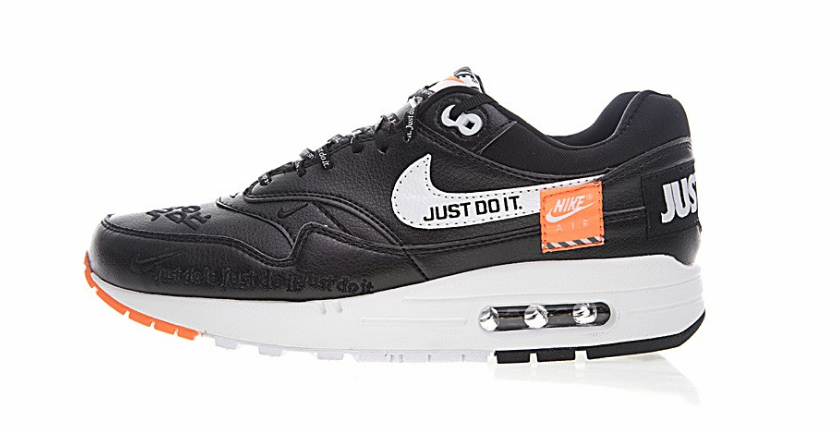 e7d58b6dfc Tênis Nike Air Max One Just Do It Preto - Budy Imports