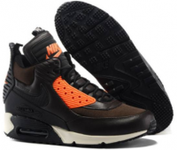 Nike Air Max 90 SneakerBoot Brown/Orange